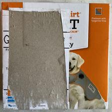 New listing ThunderShirt Sport Dog Anxiety Treatment Shirt Silver/Orange Xs