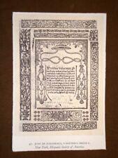 Juan de Zumarraga Doctrina breve Stampa popolare americana U.S.A.