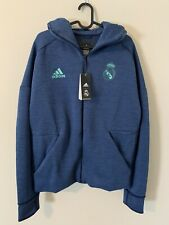 Adidas Men's Real Madrid 2019-20 ZNE HD 3.0 Training Jacket Size M (DX8699)
