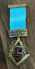 Founders jewel for Berkshire Masters Lodge No 3684 (1913)