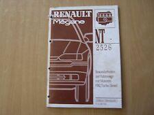 Renault megane motor f8q turbo diesel de planta manual de instrucciones de reparación