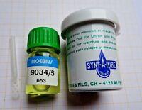 Moebius 9034/5 synthetisches Öl für Uhren und Präzisionsmechanik 5 ml..(Grundpre