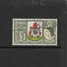 1953 Queen Elizabeth II SG150  £1 muliticoloured  Fine Used  BERMUDA