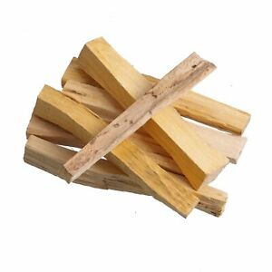 Palo Santo Incense Wood 12 Pieces, 3,5 x 0,4 x 0,4 Inches, Sacred Wood From Peru