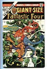 GIANT-SIZE FANTASTIC FOUR #4 -First Madrox The Multiple Man comic book 1975