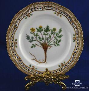 Flora Danica Royal Copenhagen Durchbruchteller Zierteller Potentilla Pulchella