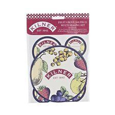 Kilner 108 PIEZAS Fruta Arboleda Bote de mermelada Multi Sellado Conjunto /