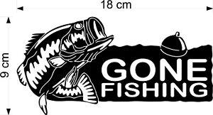 Carp fish decals sticker Van, Car, fishing box