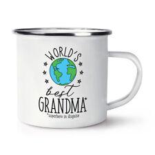 world's mejor abuela retro esmalte Taza - regalo divertido Abuela CAMPING