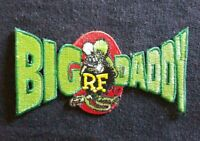 "OFFICIALLY LICENSED ED ""BIG DADDY"" ROTH RAT FINK BIG DADDY HOT ROD RACER PATCH"