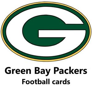 You Pick Your Cards -  Green Bay Packers Team - NFL Football Card Selection