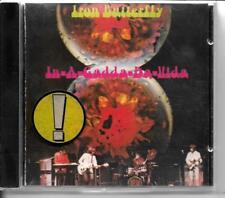 CD ALBUM 6 TITRES--IRON BUTTERFLY--IN A GADDA DA VIDA