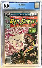 Red Sonja # 12 CGC 8.0