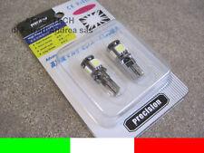 LOTTO 20 LAMPADINE LED CANBUS NO ERRORE CHECK T10 W5W L