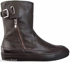 $750.00 CESARE PACIOTTI FASHION LEATHER BOOTS US 9 ITALIAN DESIGNER MENS SHOES