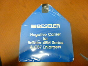 BESELER NEGATIVE CARRIER FOR 45M SERIES AND CB7 ENLARGERS #8304