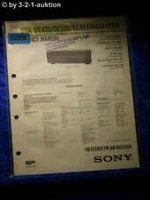 Sony Service Manual STR DE435 /DE535 /SE491 /V424 /V525 FM/AM Receiver (#5265)