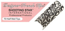 Shooting Star Designer French Nail Tips - DT090 (70 ct)