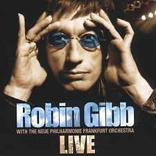 ROBIN GIBB -  With The Neue Philharmonie Frankfurt Orchestra LIVE CD