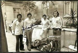 Australia Cricket Legend Alan Hurst Signed Photo