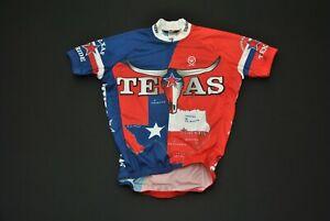 NWOT Don't Mess With Texas Cycling Jersey Canari Men's XXS
