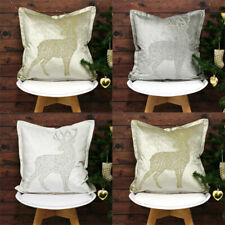 Riva Paoletti Wonderland Prancer Embellished Cushion Cover, 50 x 50 Cm