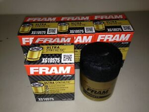 FOUR(4) Fram Ultra Synthetic XG10575 Oil Filter LOT fits TG10575 M1-212A 20-500
