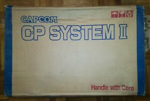 *ONLY BOX* CAPCOM CP SYSTEM II CP2 ORIGINAL OFFICIAL BOX *BEST OFFER* *TRACKED*