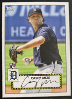 2021 Topps Baseball Series 1 RC Rookie Casey Mize Detroit Tigers Auto #T52-7