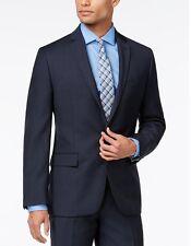 $500 RYAN SEACREST men BLUE WOOL MODERN-FIT SUIT COAT JACKET BLAZER SIZE 38 L