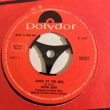 """ROBIN GIBB Saved By The Bell Ex+ Polydor UK 1969 7"""""""