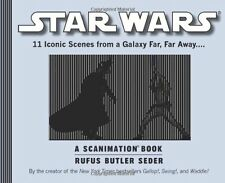 Star Wars: A Scanimation Book: Iconic Scenes from a Galaxy Far, Far Away... by R