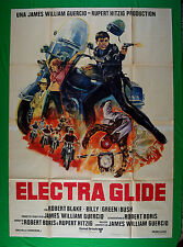 M46 MANIFESTO 4F ELECTRA GLIDE ROBERT BLAKE BILLY GREEN BUSH JAMES WILL