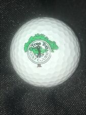 Tree Top Golf Course Golf Ball w/ Logo for Display Cabinet Maxifli 2