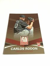 2015 Donruss Carlos Rodon Rookie Elite Insert Chicago White Sox RC Baseball