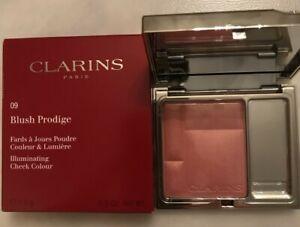 CLARINS BLUSH PRODIGE ILLUMINATING CHEEK COLOUR 09 Golden Pink..Free 1st Post..