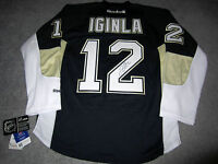 JAROME IGINLA Pittsburgh Penguins SIGNED Autographed JERSEY w/ BAS COA Flames
