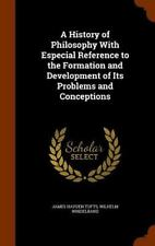 A History of Philosophy with Especial Reference to the Formation and Development