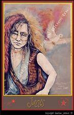 Poster of Janis Joplin by Cadillac Johnson