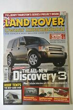 Land Rover Owner International Magazine. May Issue 5, 2004. Land Rover models.