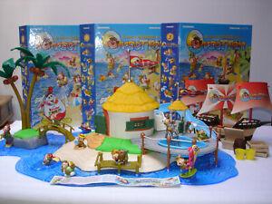 Kinder Diorama Isola degli Orsetten anni '90 - De Agostini Junior - con galeone