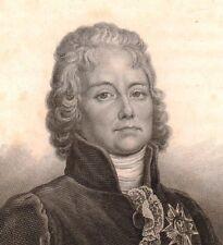 Charles-Maurice de Talleyrand Périgord Napoléon Bonaparte Prince Bénévent 1839