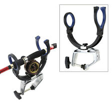 Fishing Rod Bracket Boat Pole Mount Clamp Clip 360° Stander Tackle Holder Tool
