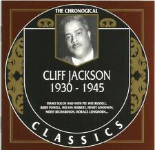 Cliff Jackson - 1930-1945 [The Chronological Classics] (CD 1997)