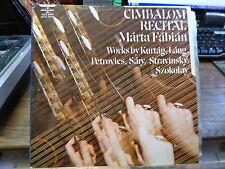 Marta Fabian : cimbalom recital - hungaroton slpx 11686