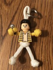 Freddie Mercury Queen Paracordbuddy Keyring Keychain Mini figure UK SELLER