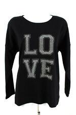 Laurel Felpa Tg. 40 Cotone Pullover Maglione Maglietta manica lunga Top LONGSLEEVES