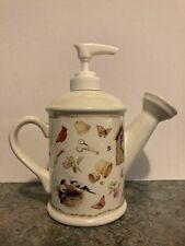 Marjolein Bastin Nature's Sketchbook Watering Can Soap Lotion Dispenser