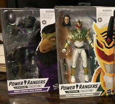 power rangers lightning collection Tenga Warrior and Lord Drakkon Lot