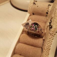 Cluster Not Enhanced Sapphire Fine Rings